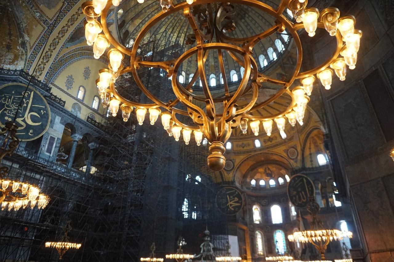 Святая София в Константинополе - главный христианский