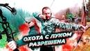 Разрешена охота с луком и стрелами Возможен ли BOWHUNTING в России Как стрелять из лука