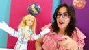 Çocuklar için Barbie oyunları. Barbie Mars yolculuğunda
