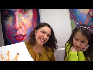 Вики шоу - пятюня челлендж отгадай рисунок по ладони viki-show новое видео