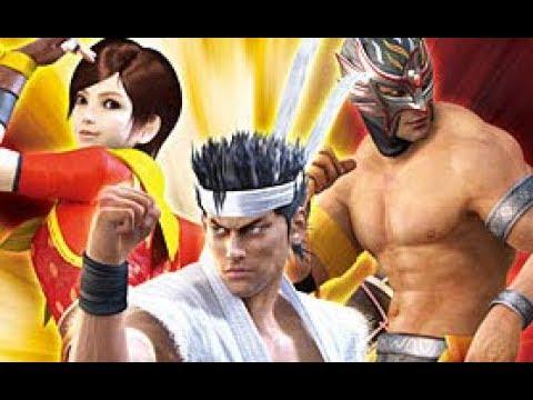 """まだまだオラオラオラ!""""Virtua Fighter 5"""" Play Akira Yuki Score Attack"""