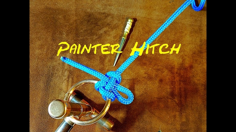 Painter Hitch - Fast Secure Knot - Quick Release Knot - Great for Lines Leads and Leashes