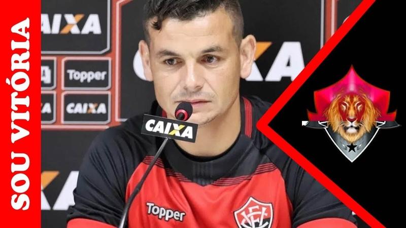 """Áudio: Ruy revela reunião do elenco do Vitória para reverter má fase: """"Brincar o mínimo possível"""""""