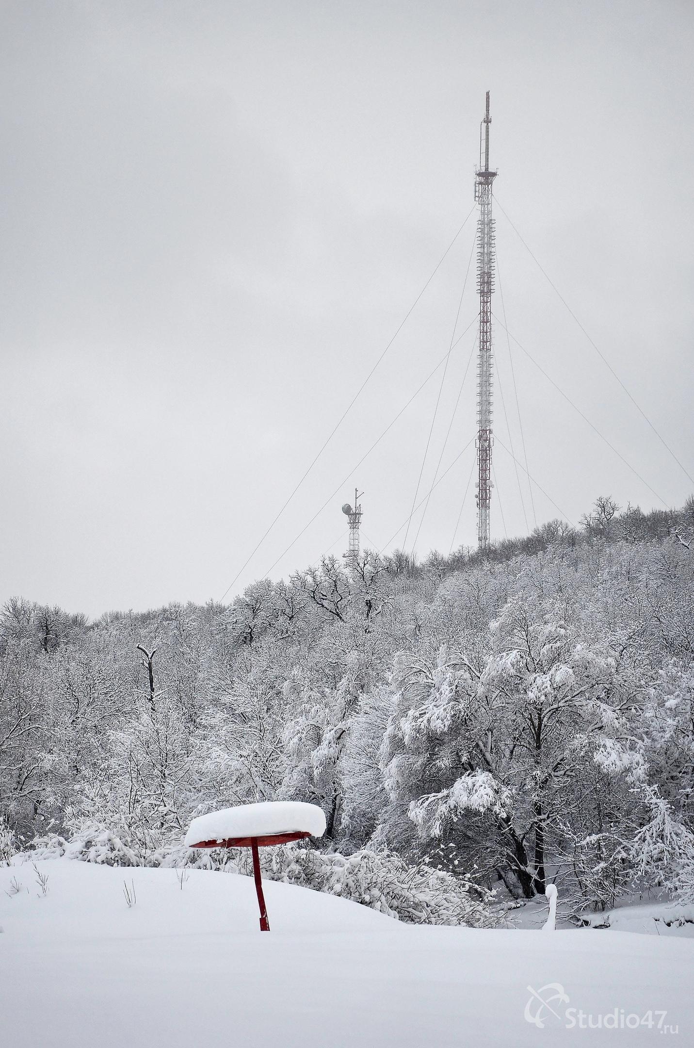 Телевизионная вышка на Грибановской горе