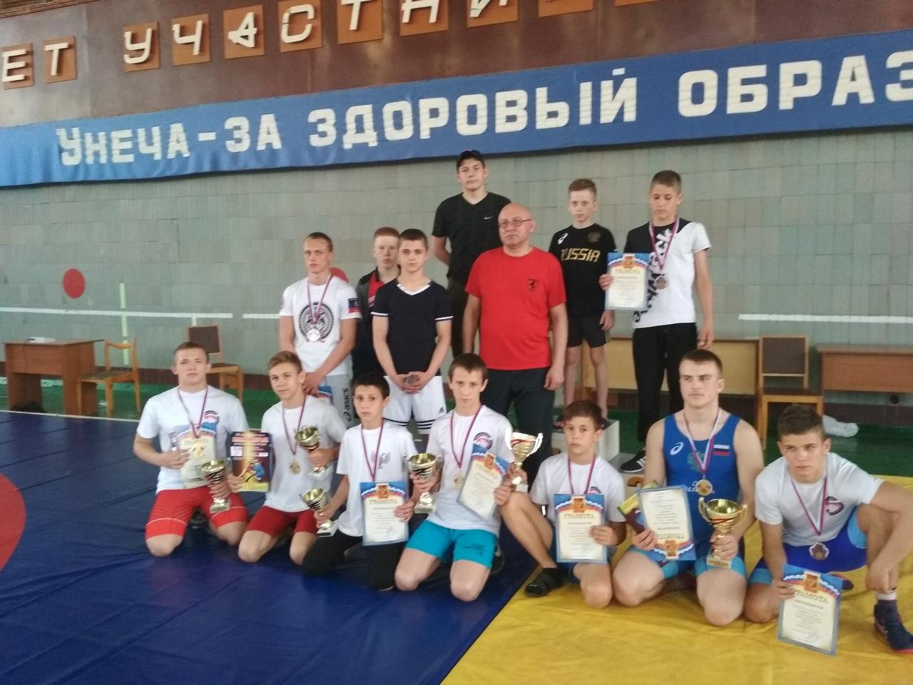 Команда города Донецка приняла участие в международном турнире по вольной борьбе «Дружба славянских народов»