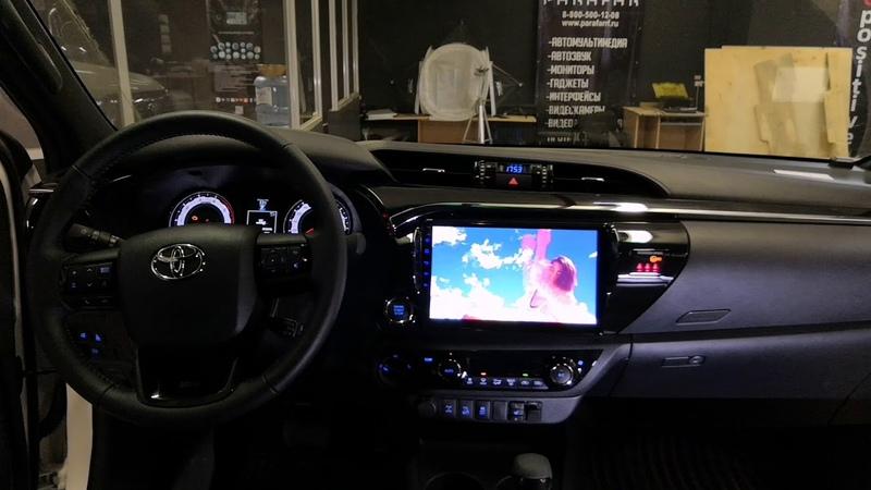 Штатная магнитола Parafar для Toyota Hilux 2018 PF063