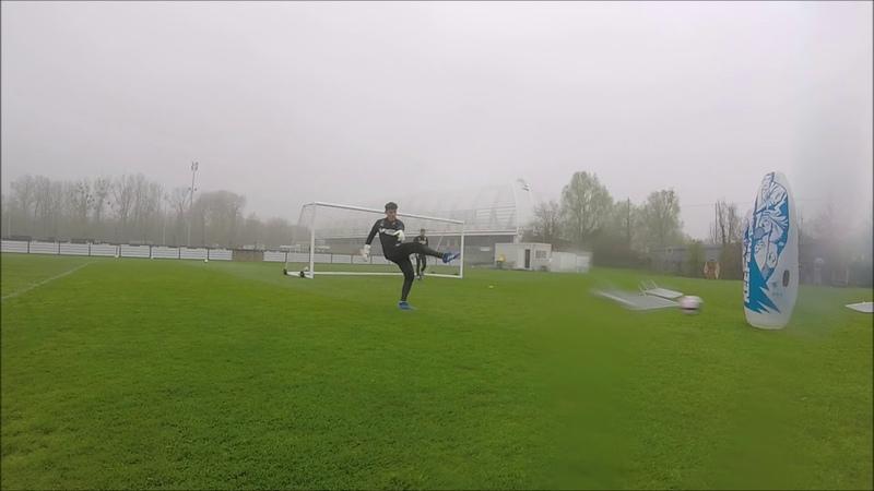 Spécifique gardiens Goalkeeper training Goal à Goal