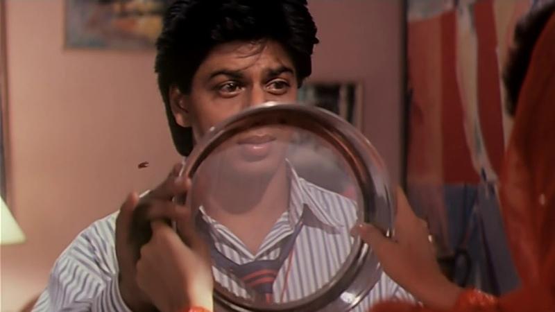 отрывок из фильма Как боссу утёрли нос с Шахрукх Кханом в HD