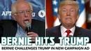 Bernie Calls Out Trump In New Campaign Ad