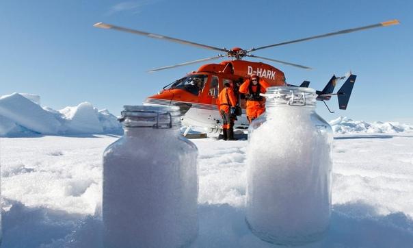 В Арктике, Альпах и Пиренеях теперь идет снег с микропластиком