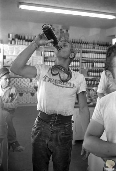 Весной 1963 года Стив МакКуин открыл двери своего дома в Палм-Спрингс, штат Калифорния, фотографу журнала LIFE Джону Доминису. Потратив три недели и сорок рулонов плёнки, Доминис получил уникальное представление о жизни семьи знаменитых актёров  Стива Мак