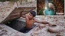 Building Most Secret Hidden Underground House with Underground Deep Pool To Avoid An Enemy