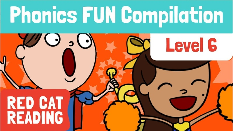 Fun Phonics | Level 6 | or, oo, oo, ng, er | How to Read | Made by Red Cat Reading