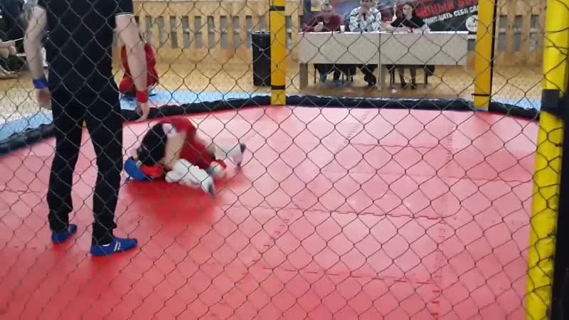 MMA SAFE 2019 Руслан в синем