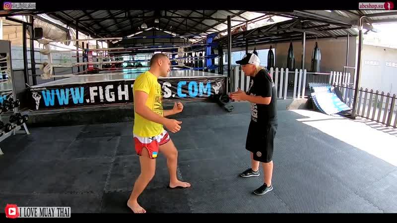 Нестандартный боковой удар в атаке, боковые удары в боксе от Андреевой Светланы. Not standart hook