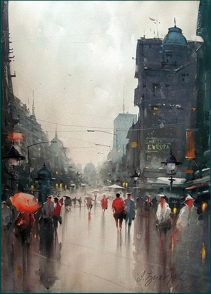Душан Джукарич  известный современный художник