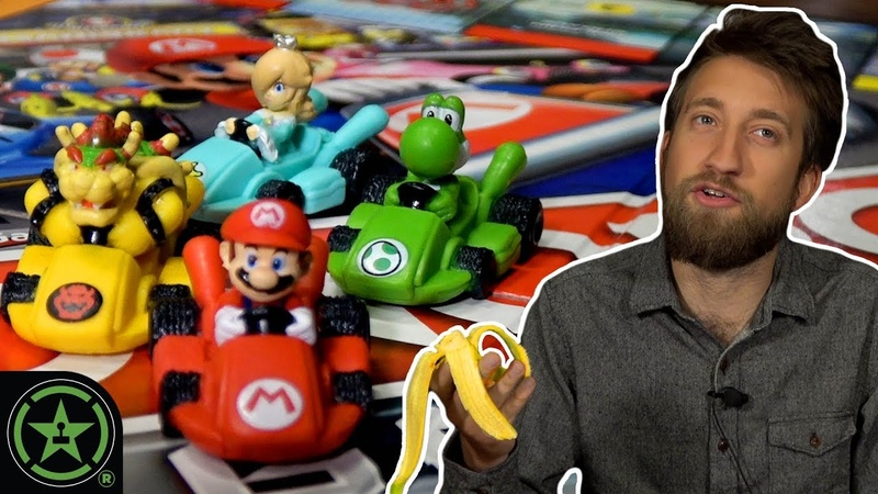 BRING YOUR OWN BANANAS - Monopoly Gamer Mario Kart (Part 1) - Let's Roll