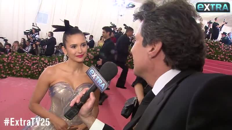 @ninadobrev didnt lose a glass slipper, she wore one at the MetGala in an amazing @zacpos