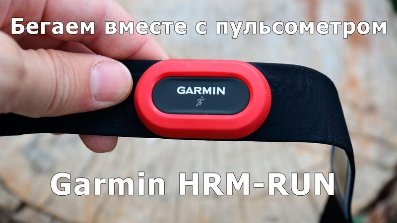 Обзор пульсометра для бега Garmin HRM RUN