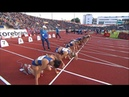 Women's 100m Hurdles Diamond League Oslo 2019