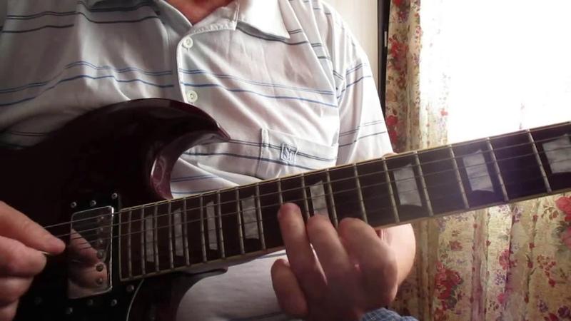 Прощание славянки | дембельская - Соло на электро гитаре