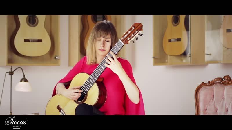 1001 (2) J. S. Bach - Sonata No.1 in G minor, BWV 1001 /2. Fugue - Katarzyna Smolarek, guitar