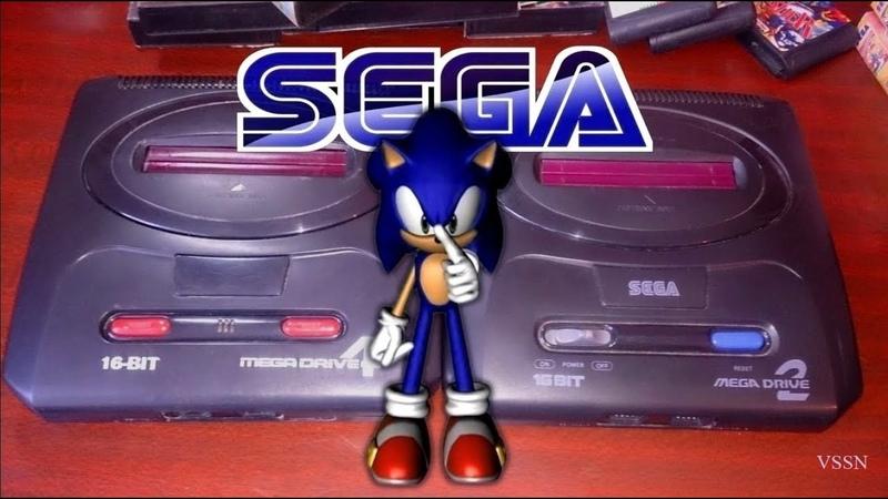 ОБЗОР игровых консолей Sega Mega Drive (времён 90-х)