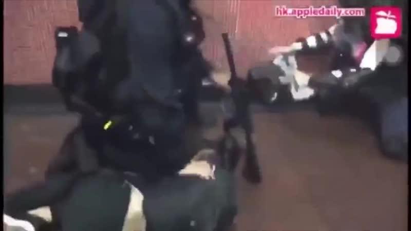 Неженкам из числа мамкиных революционеров на заметку что такое полицейская жестокость и как разгоняют бездельников зарубежом