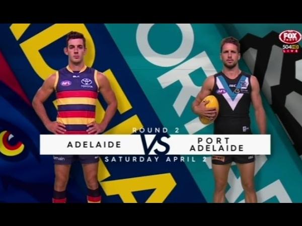 AFL 2016 Adelaide v Port Adelaide full match 02.04.2016 Round 2