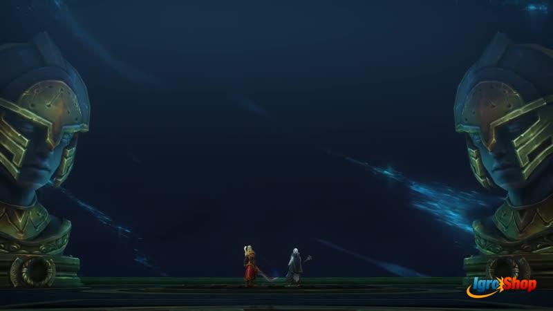 World of Warcraft - Azsharas Eternal Palace - Raid Finale Cinematic