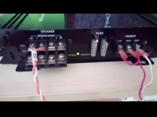 Проверка усилителя supra sbd-a4270  после ремонта