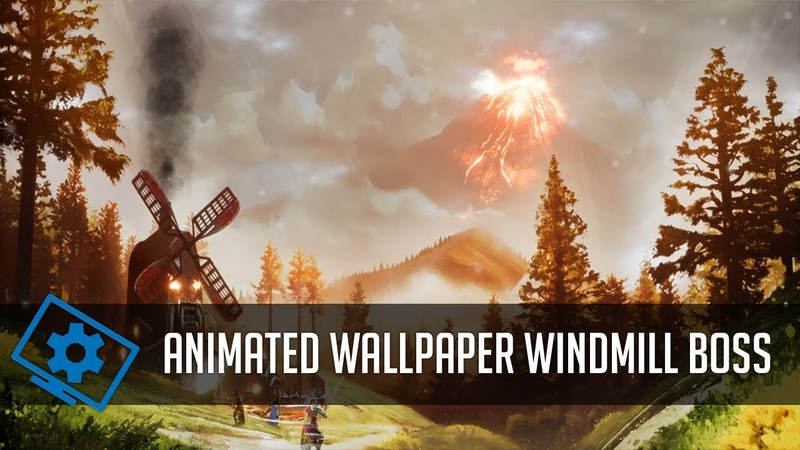 Ashes of Creation - Windmill Boss Animated Wallpaper (Wallpaper Engine)
