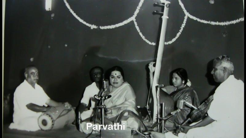 ML Vasanthakumari Jalajakshi hamsadhwani Adi Venkatasubba Iyer Varnam