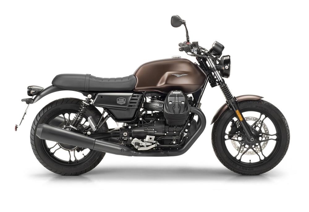 Мотоцикл Moto Guzzi V7 III Stone с комплектом Night Pack