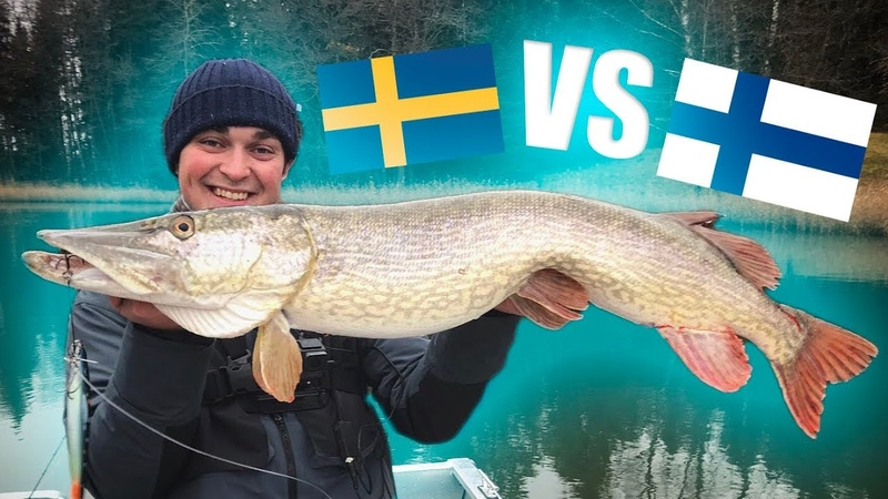 SWEDEN vs FINLAND - Pike Fishing Competition (ft Urpoerämies)