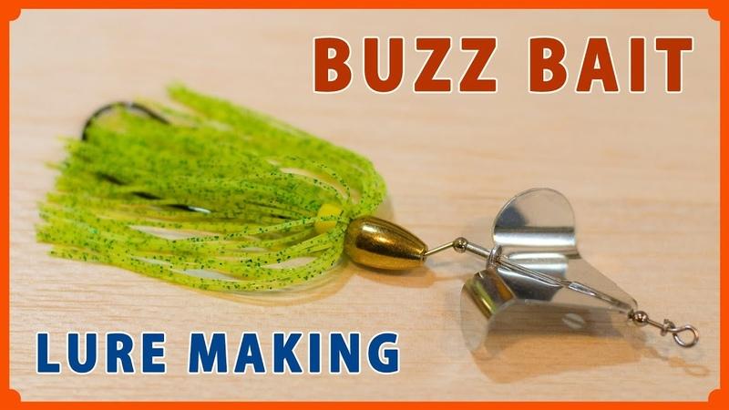 Making a Inline Buzz Bait (Weedless stye) / インラインバズベイトをハンドメイド