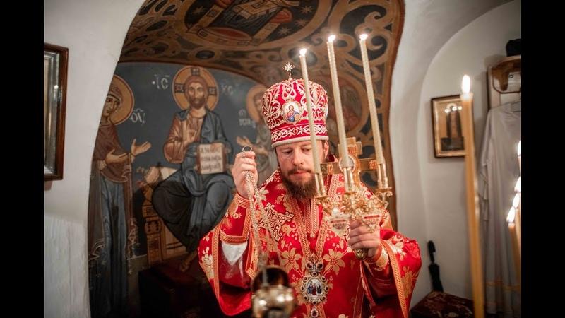 Божественна Літургія в Дальніх печерах Києво-Печерської Лаври