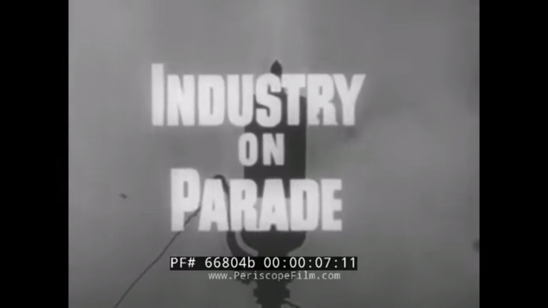 INDUSTRY ON PARADE 1960s BUSINESS OF RELIGION IN USA CONSTRUCTION OF CHURCHES 66804b
