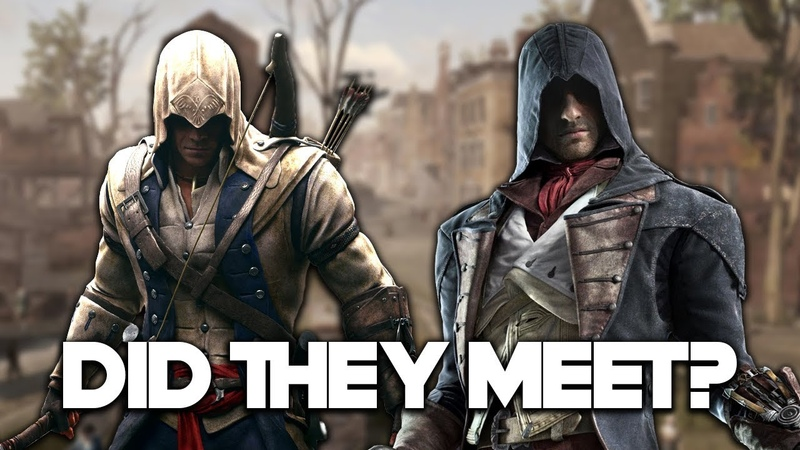 Assassins Creed - Did Connor and Arno Meet