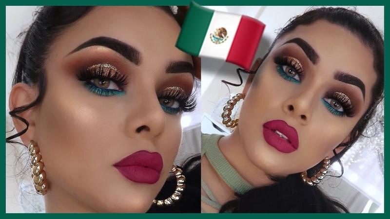 MAQUILLAJE USANDO PRODUCTOS MEXICANOS 🇲🇽