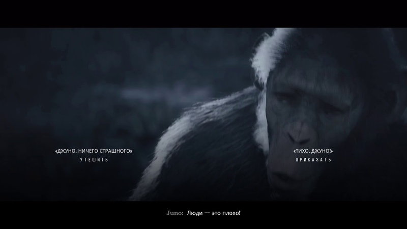 Планета обезьян последний рубеж(1 глава) Два племени