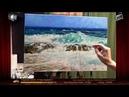 🔝 ХуДоЖнИкИ Морской пейзаж маслом Волна Рисуем вместе Георгий Харченко
