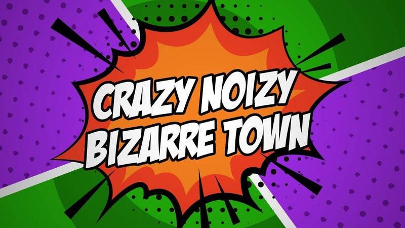 6 people chorus - Crazy Noizy Bizarre Town (RUS cover) HBD Melody Note!!