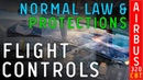 CBT - Airbus 320 - Flight controls. Normal law protections