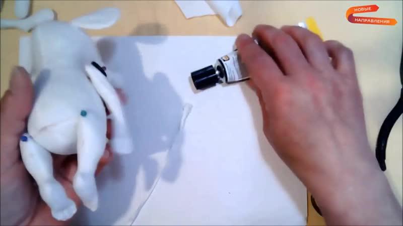 Текстильная кукла Крысеныш в колпаке, Кукольная мастерская, Елена Диденко (720p)
