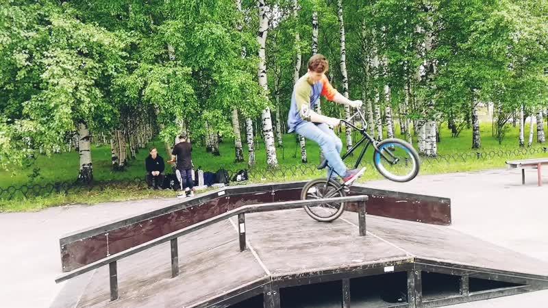Передвижной скейт парк установлен на июль 2019 года в рамках проекта Выходи