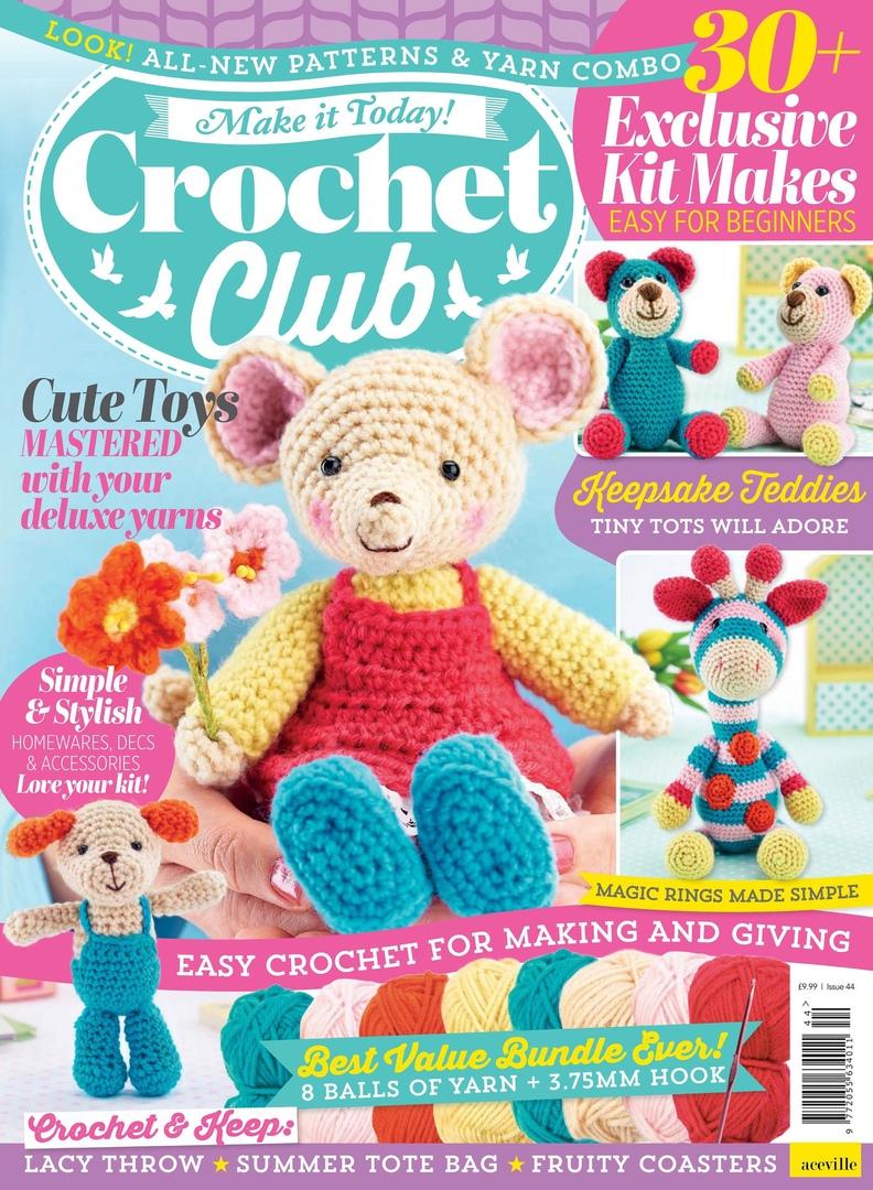 Make it Today! Crochet Club no:144/2019