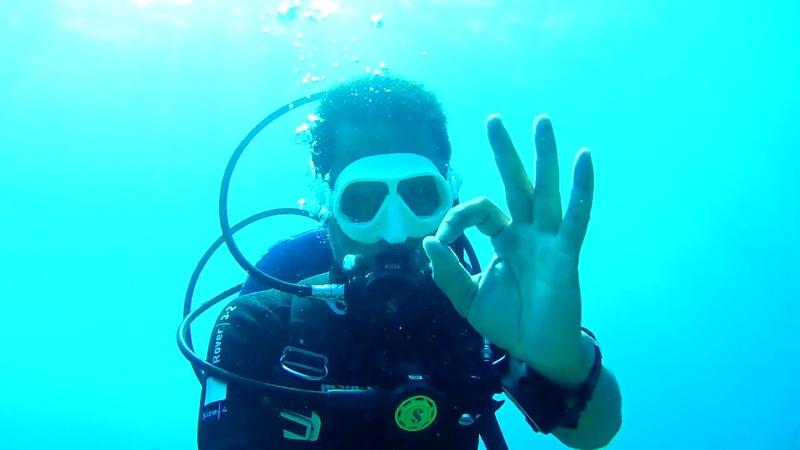 Khám phá biển Nha Trang Phần 2 Lặn bình khí Scuba diving