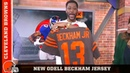 New OBJ Jersey Goes to Nate Burleson on Good Morning Football | Cleveland Browns