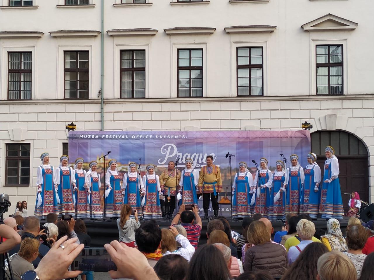 Хор «Родник» им. В. Кулемина на фестивале в Чехии